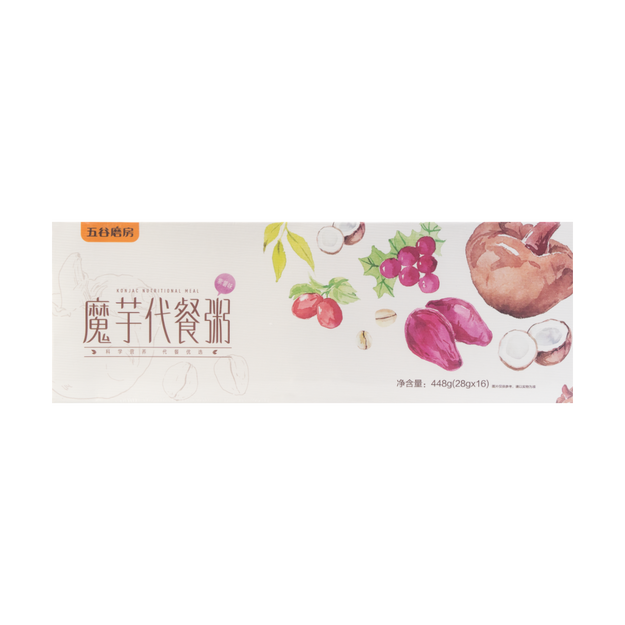 Product Detail - WUGU MOFANG Konjac Nutrional Meal Purple Yam Flavor 28g*16 servings - image 0