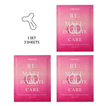 PIBULGI Re:Mate-Intimate Care Bikini Line Mask 3pcs