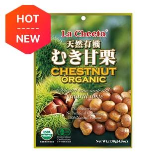 日本LA CHEETA 天然有机种植甜板栗 130g USDA认证
