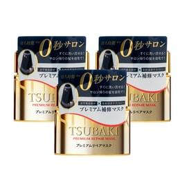 【3盒优惠装】日本SHISEIDO资生堂 TSUBAKI丝蓓绮 高级强力0秒修护发膜*3