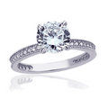 JDREY 14K Solitaire Engagement Ring 1 Piece