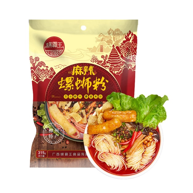 Product Detail - LIUZHOU Guangxi Specialty LuoSiFen (Hot Spicy Flavor Noodles) 315g - image 0