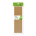 SUNCHA Bamboo Chinese Chopsticks Paint-free 26cm 10pairs Carbonized Mao bamboo