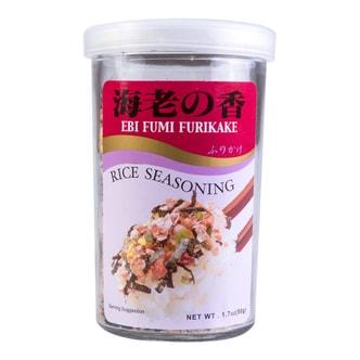 日本AJISHIMA味岛 香松系列 日式拌饭料 甜虾海苔味 50g