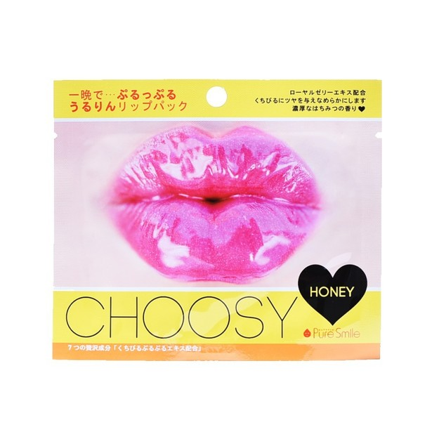 Product Detail - PURE SMILE CHOOSY Lip Pack Honey 1pc - image 0