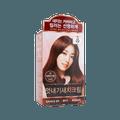 韩国RYO吕 染白发染发剂 巧克力棕色 色号6C 120g