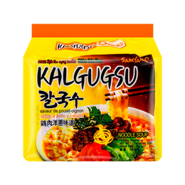 SAMYANG Kalgukus Instant Noodle Soup 5Pcs