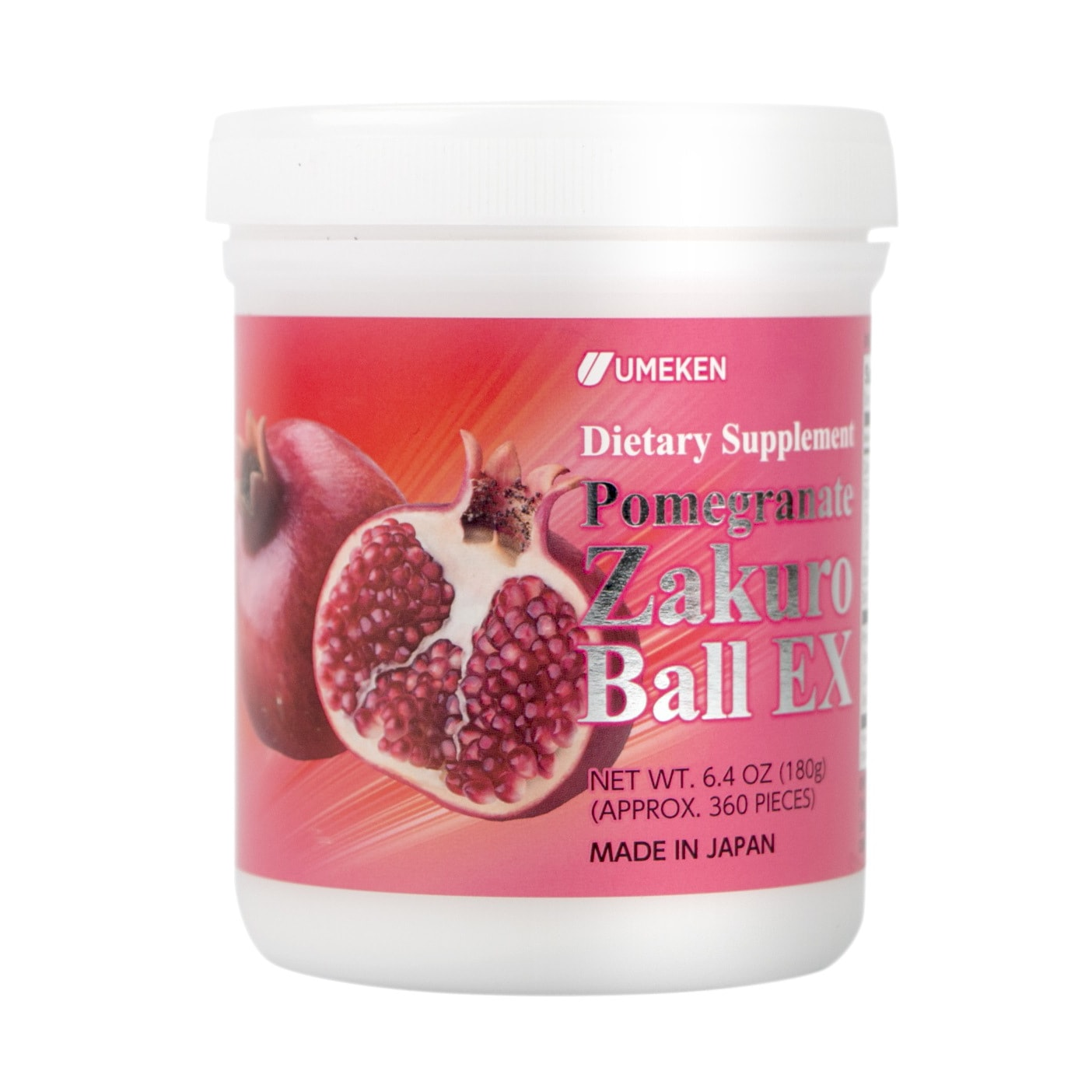 Yamibuy.com:Customer reviews:UMEKEN Pomegranate Zakuro Ball EX 360 Balls/ 2 Months Supply