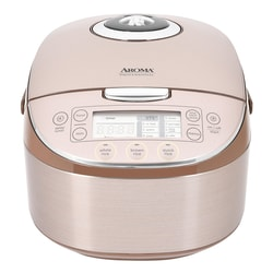 AROMA Digital Turbo Convection Multi-Function Rice Cooker Food Steamer 16 Cups MTC-8008 (with Delay Timer)