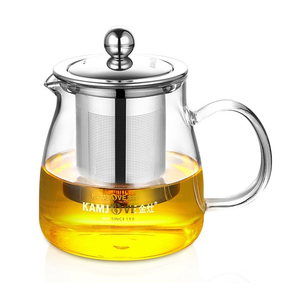 Product Detail - KAMJOVE A Series Heat-Resistant Glass Art Tea Cup A-02  500ml - image 0