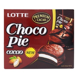 LOTTE Choco Pie Cacao 12 Bags