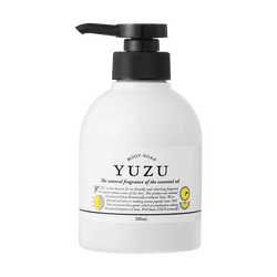 DAILY AROMA Yuzu Natural Fragrance of the Essential Oil Body Soap 300ml