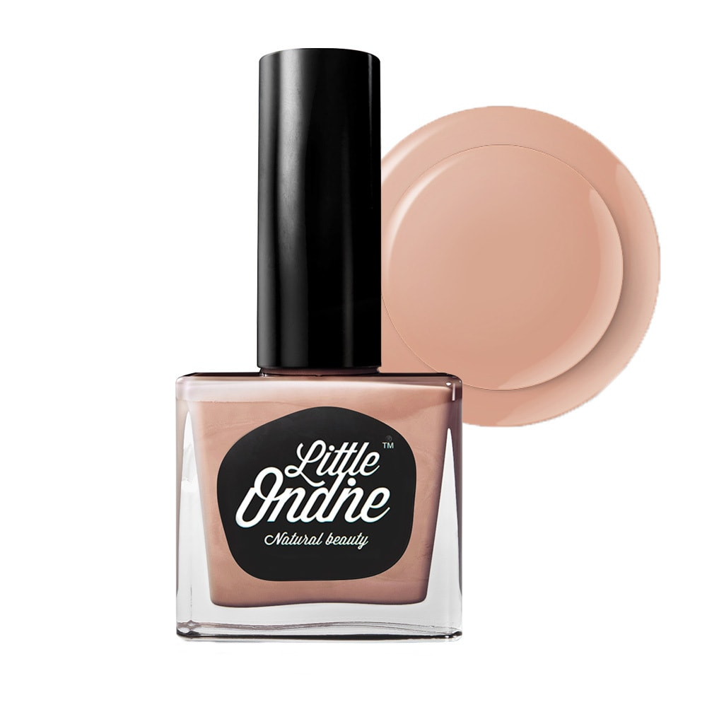 Yamibuy.com:Customer reviews:Little Ondine Water-based Peel off Odor Free Quick Dry Non Toxic Nail Polish-Solid Nude 0.36 Fl Oz( L066-Cuddle )