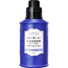 日本LAVONS LE LINGE 衣物香水洗衣剂 添加柔顺成分 #华丽放松香 850g