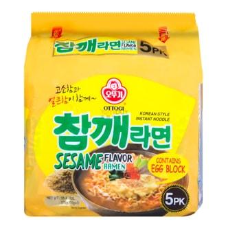 韩国OTTOGI不倒翁 芝麻拉面 5包入