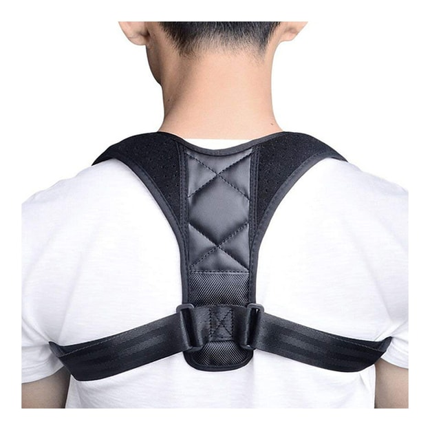 Product Detail - TIMESWOOD Adjustable Therapy Humpback Posture Corrector Brace Shoulder Back Support Belt 1pc - image  0