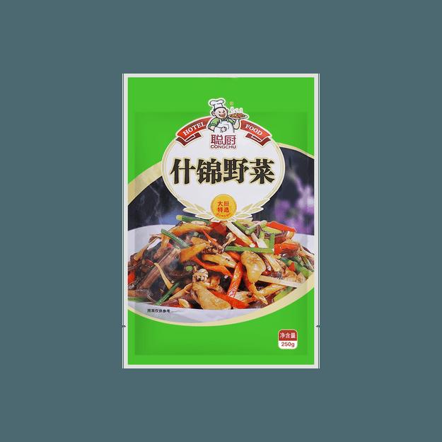 商品详情 - 湖南聪厨 什锦野菜 250g - image  0