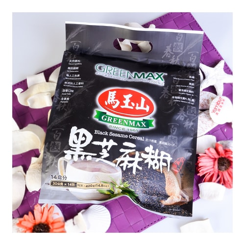GREENMAX Black Sesame Cereal 14pcs