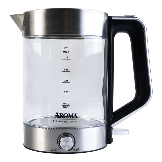 Product Detail - Professional 7 Cups Electric Glass Kettle, 1 Kettle, 1.7L, AWK-165M, 2 Year Manufacturer Warranty - image  0