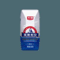 光明 慕斯利安 巴氏杀菌热处理风味酸牛奶 原味 200g