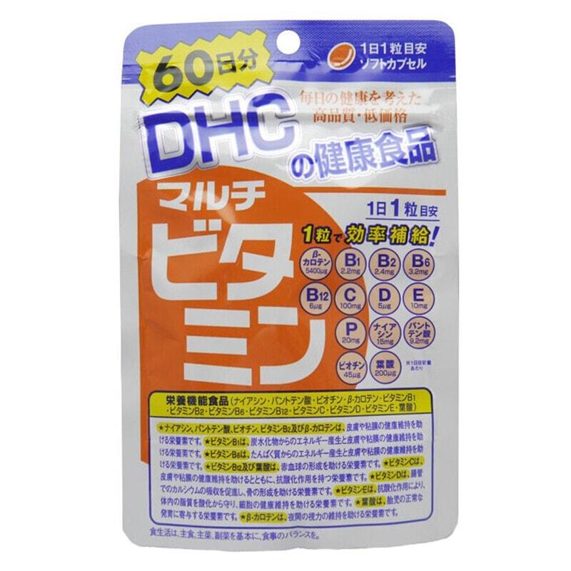 【日本直邮 】DHC 蝶翠诗 复合维生素营养机能 60粒60日分 怎么样 - 亚米网