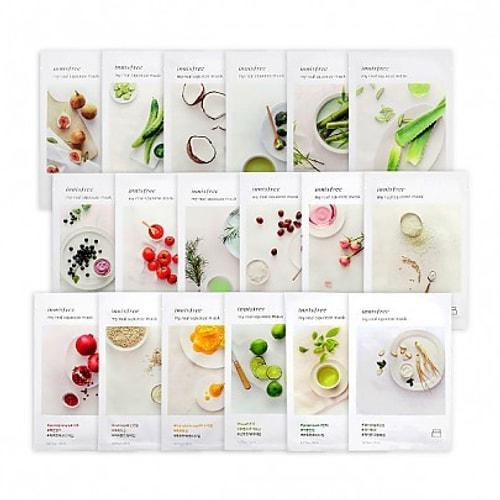 INNISFREE My Real Squeez Mask Sheet 18pcs