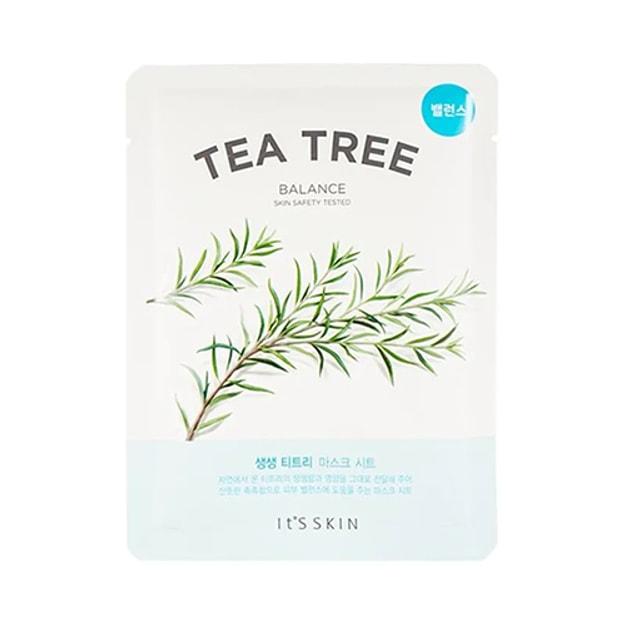 Product Detail - IT\'S SKIN Tea Tree Balance Mask Sheet 1pc - image 0