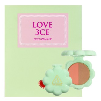 韩国3CE LOVE 贝壳双色眼影 #LUCKY SEVENTH 3.2g