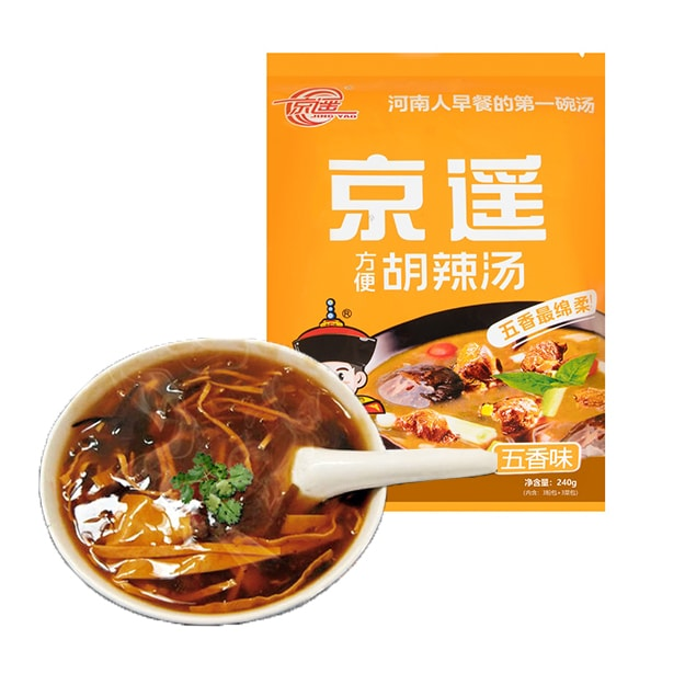 Product Detail - JINGYAO Hu Spicy Soup Spiced Flavor 240g - image 0