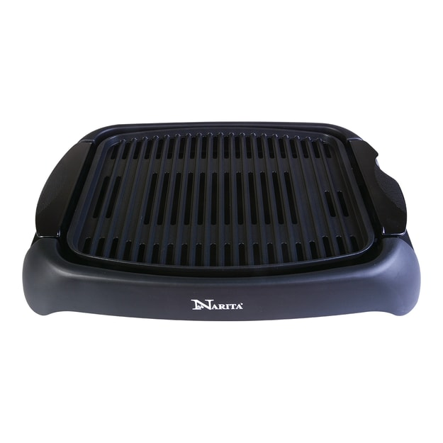Product Detail - NARITA Indoor Non-Stick Coating Adjustable Thermostat Control Electric Grill 13in x 10in NBC-1310 - image 0