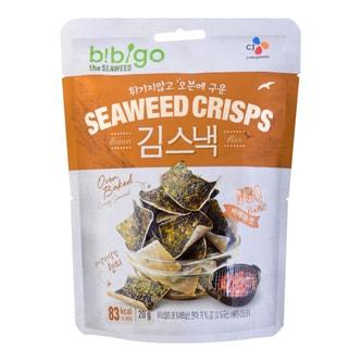 CJ BIBIGO Seaweed Crisps BBQ 20g