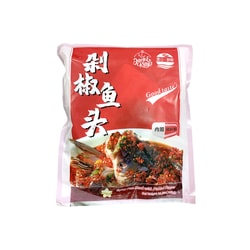 JACK& KING'S Pickled Spicy Fish Head (BAG) 635g