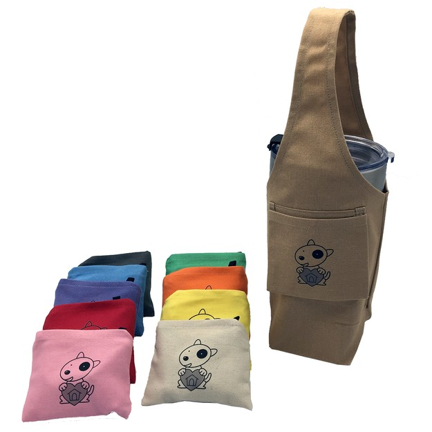Product Detail - YCCT Eco-friendly Reusable Beverage Color Changing Bag  #Dog Lovers Brown - image 0