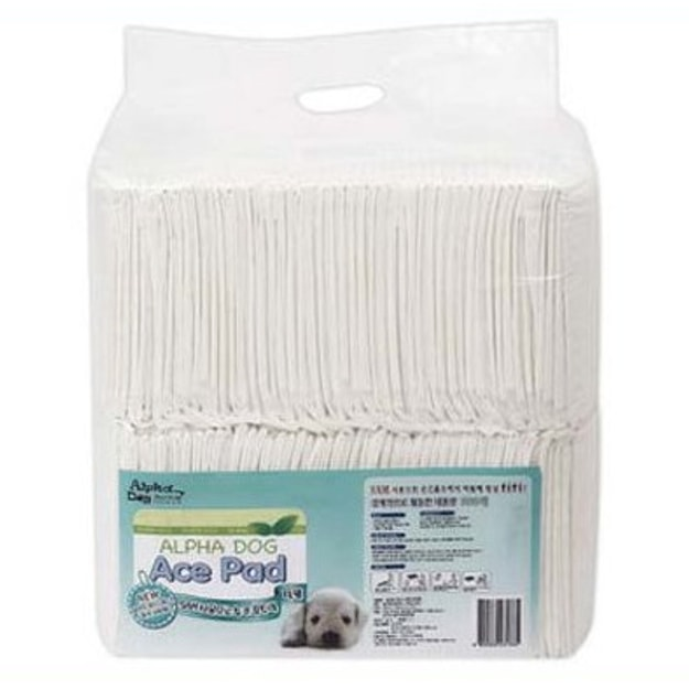"""Product Detail - ALPHA DOG SERIES \""""ACE\"""" Puppy Training Pads 100pcs - image 0"""