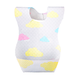 JIANROU One Time Use Disposable Baby Bib 20 Sheets