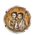 【中国直邮】上海女人雪花膏面霜 保湿 护手霜 牡丹 80g