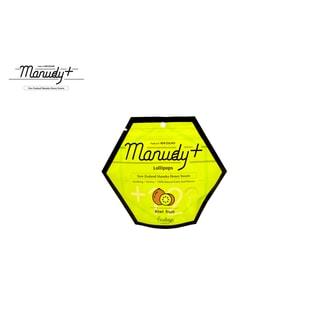 MANUDY+ Natural Manuka Honey Candy Lollipops KIWI FRUIT Flavor (12 Counts)