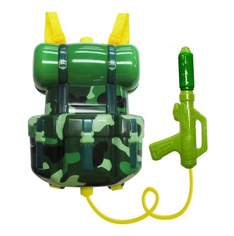 MILISTAR Little Solider Backpack Water Gun (Forest Type)  3Y+