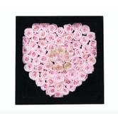 芙罗拉之誓 永生花心形玫瑰组合 倾慕系列-情动 黑色礼盒装