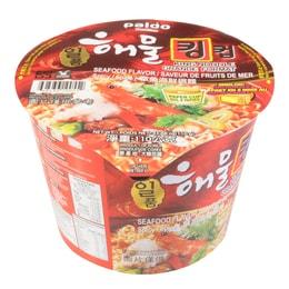 韩国PALDO八道 章鱼海鲜碗面 110g