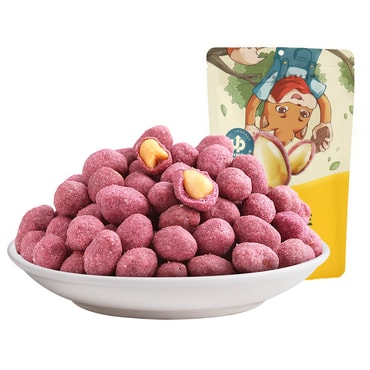 THREE SQUIRRELS Purple potato peanut 205g