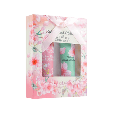Cherry Blossoms Hand Cream Set
