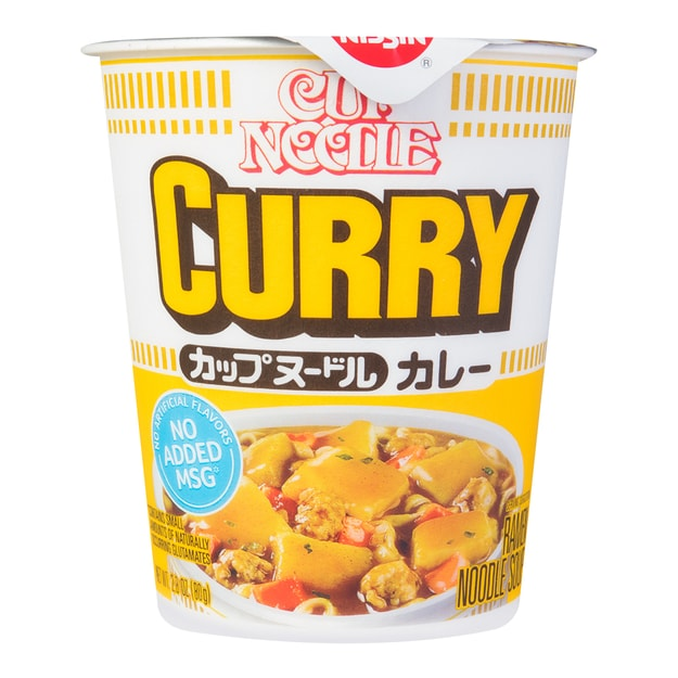 Product Detail - NISSIN Cup Noodle Curry Flavor 80g - image 0