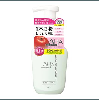 日本BCL AHA 果酸酵素柔肤泡沫卸妆洗面奶 150ml 无磨砂 干燥敏感肌肤适用