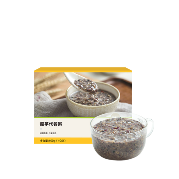 Product Detail - YANXUAN Konjac Meal Replacement Porridge Sesame Flavor 400g - image 0