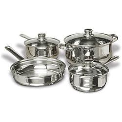 CONCORD 优质不锈钢厨房炊具厨具套组 7件入