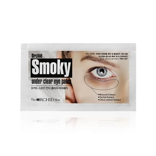 Product Detail - THE ORCHID SKIN Smoky Under Youth Eye Patch 1pair - image 0
