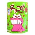 【动漫好物】日本TOHATO桃哈多 蜡笔小新饼干 巧克力味 25g