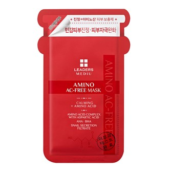 LEADERS MEDIU AMINO AC-Free Mask 1sheet