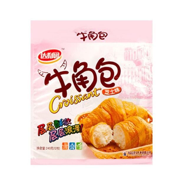 商品详情 - 达利园 层层酥软 牛角包 芝士味 240g - image  0
